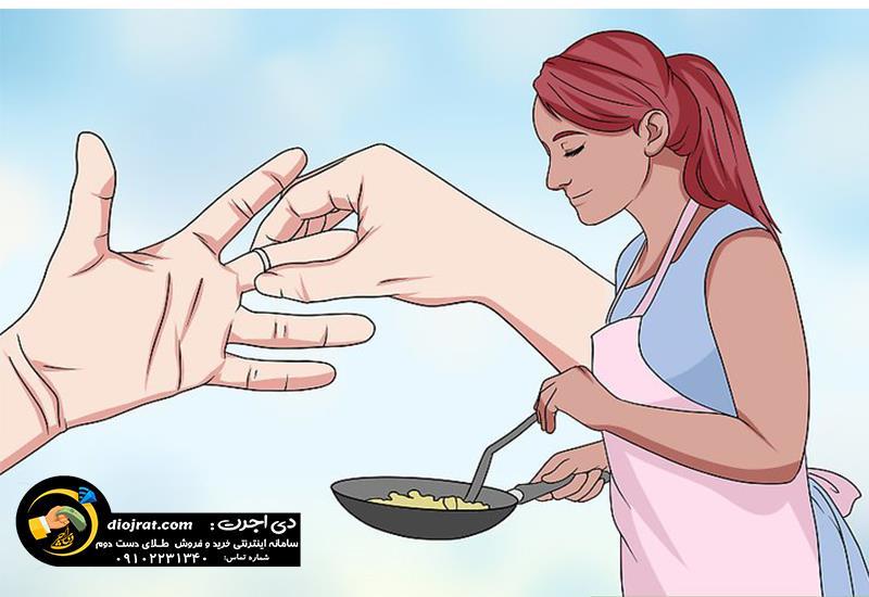 مواد غذایی موجب ایجاد سیاهی پوست در تماس با طلا میشود
