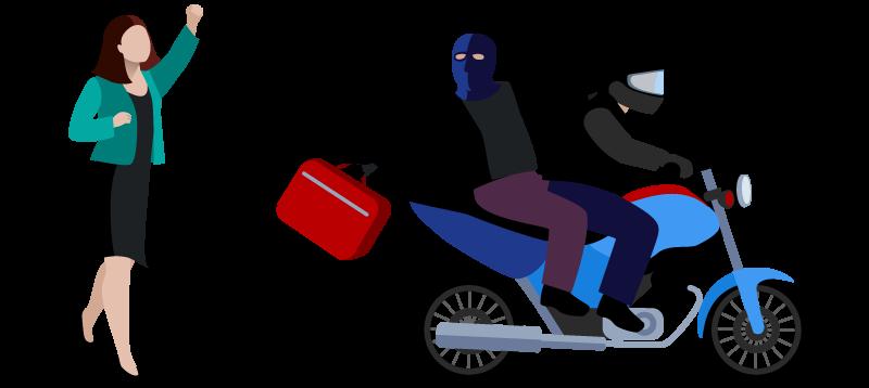 از کیف قاپ ها در امان بمانید