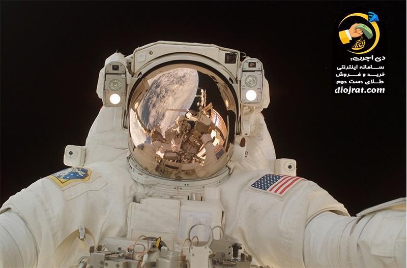کاربرد طلا در فضا