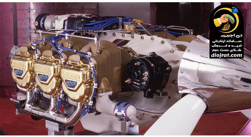 کاربرد طلا در موتور هواپیما
