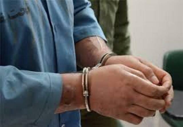 دستگیری سارق خاک طلا